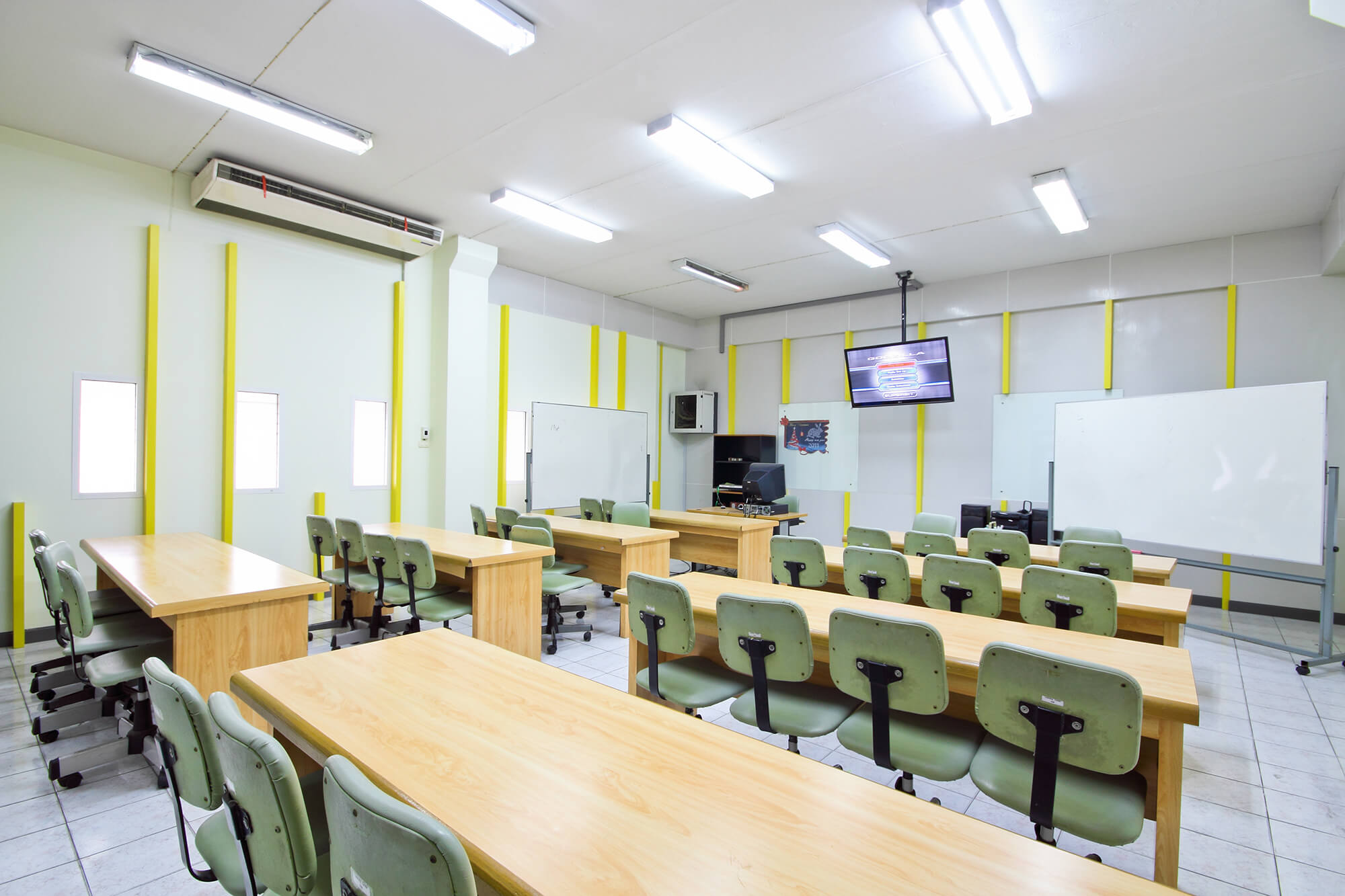 led lights in classroom