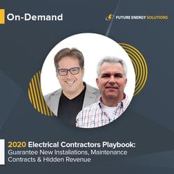 Electrical Contractor Webinar