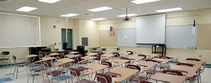 Kings Academy led lights for school classrooms