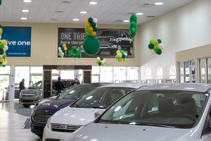 ford lincoln auto dealership led lights